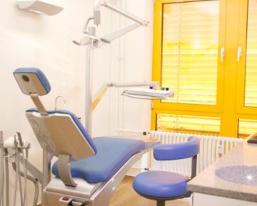 Einrichtung Behandlungsrraum
